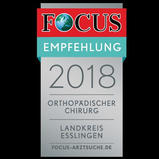 FOCUS Empfehlungsseigel 2018